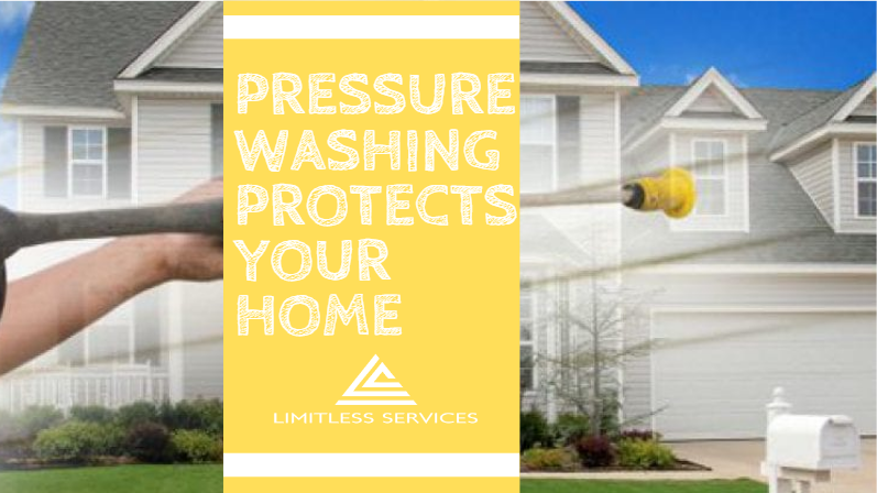 Pressure Washing Protects Your Home