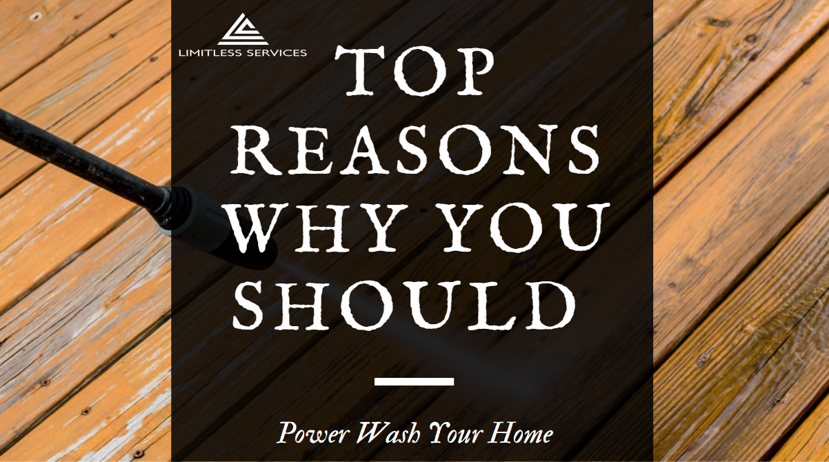 Reasons to choose Power Wash