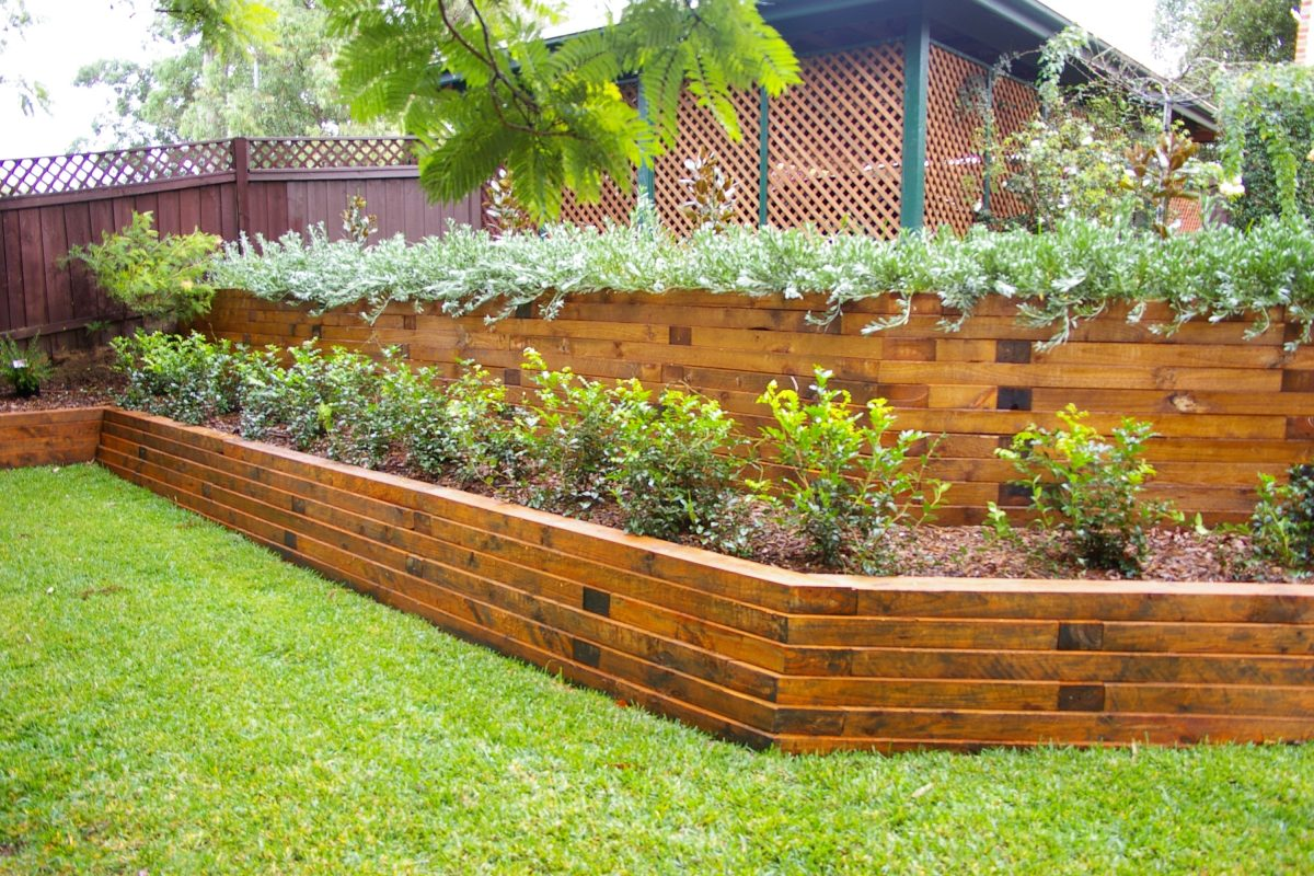 landscaping ties